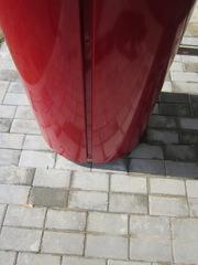 Облицовка колонн нержавеющей сталью,  Ашхабад